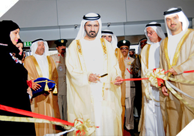 HH Sheikh Mohammed Bin Rashid Al Maktoum, V.P & P.M of the UAE & ruler of Dubai, officially opened Gitex Technology Week on 9 Oct. 2011
