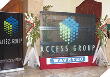 Access Group at 8th International E-Banking Conference & Exhibition 2010 at Pearl Continental Hotel Karachi.