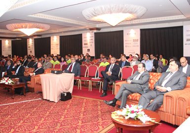 Attendees at the 9th International E-Banking Conference & Exhibition 2011 at Pearl Continental Hotel.