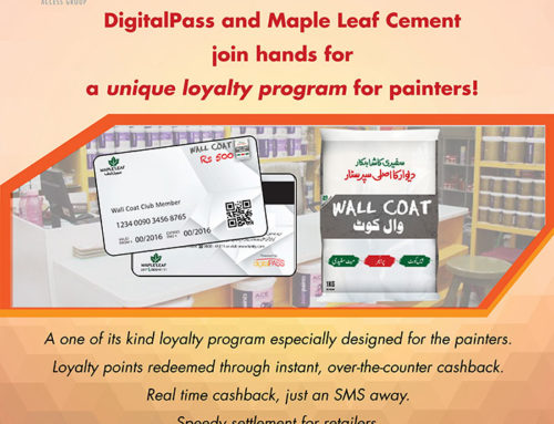 DigitalPass and Maple Leaf Cement join hands for a unique loyalty program for painters!